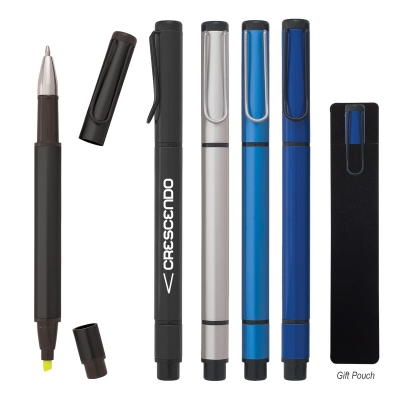 Dual Function Pen with Highlighter