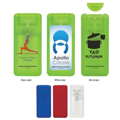 .34 Oz. Compact Hand Sanitizer Spray