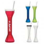18 Oz. Yard Cup with Straw