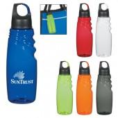 24 Oz. Crest Carabiner Sports Bottle