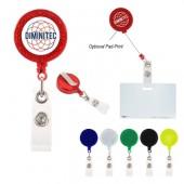 Reflector Retractable Badge Holder
