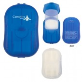 Hand Soap Sheets in Compact Travel Case