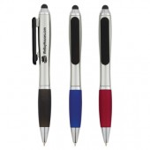 Satin Stylus Pen with Screen Cleaner