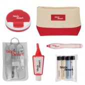 Allure Cosmetic Bag Travel Kit