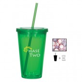 16 Oz. Double Wall Tumbler with Candy