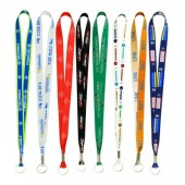 Full Color Imprint Smooth Dye Sublimation Lanyard 1