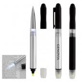 Illuminate 4-In-1 Highlighter Stylus Pen with LED